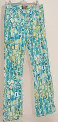 Funky jeans with flowers and different colours USsize7