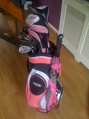ladies golf clubs complete with bag
