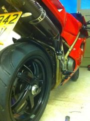 Ducati 748 Biposto Super Sport 1998 Red MOT till Sep 2012